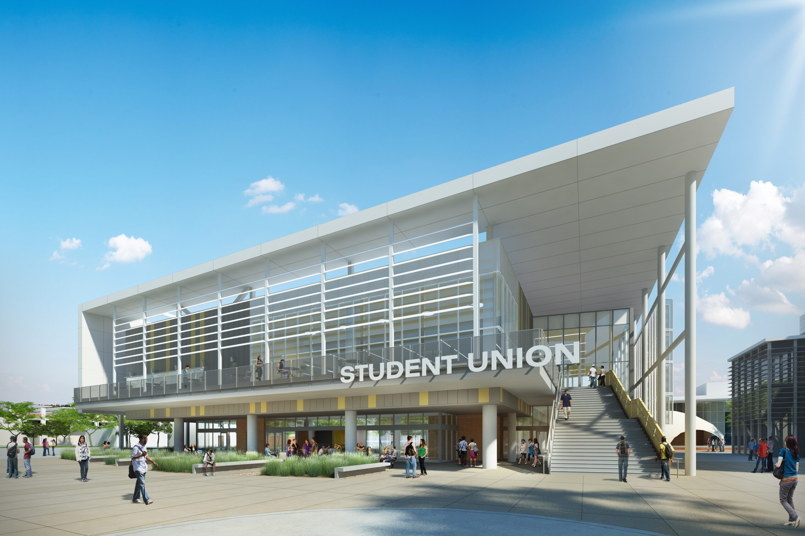 Completed: Los Angeles Harbor College SAILS Student Union Building